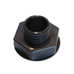 """63mm """"F"""" Style NO-SPILL® Adapter fits NO-SPILL® cans"""