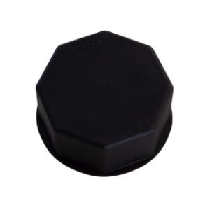 Solid Base Cap Black fits Blitz, Briggs & Stratton, Gott, Rubbermaid cans